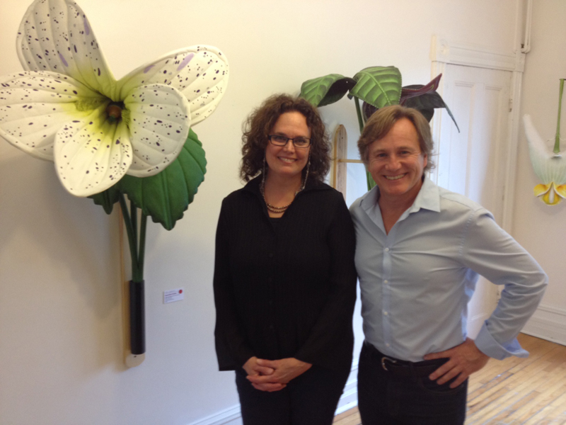 Tracy Carefoot and Joel Haslam at La Fab in Old Chelsea
