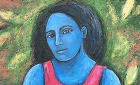 Gatineau Madonna in Blue