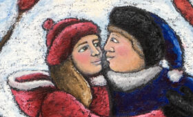 Love on a River Rink